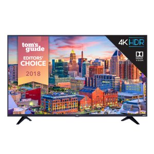 "TCLTCL 55"" Class 5-Series 4K UHD Dolby Vision HDR Roku Smart TV - 55S517"