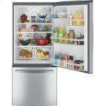 GE ®ENERGY STAR® 21.0 Cu. Ft. Bottom-Freezer Refrigerator