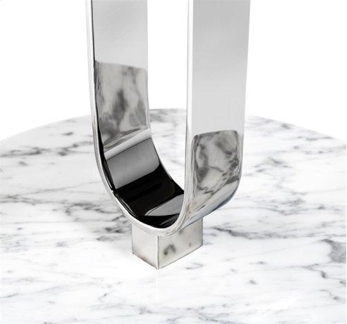 Hensley Side Table - Nickel