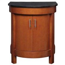 Haddington 24-inch Vanity With Countertop - Cherry
