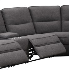 Armless Recliner-charcoal #k2080-3