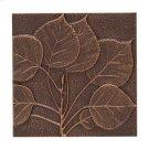 Aspen Leaf Wall Décor - Antique Copper Product Image