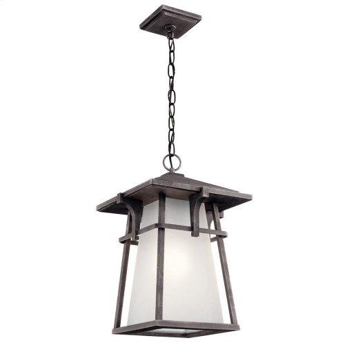 Beckett 1 Light Pendant Weathered Zinc