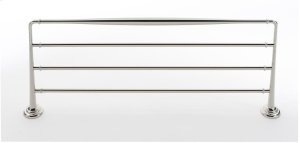 Charlie's Collection Towel Rack A6726-24 - Polished Nickel
