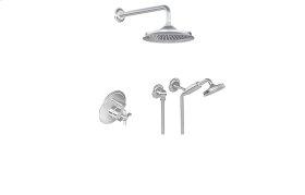 Full Pressure Balancing System - Shower and Handshower