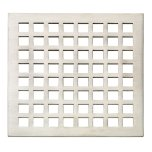 California FaucetsMission StyleDrain (R) Trim Grid Only - Carbon
