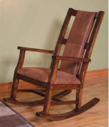 Santa Fe Rocker With Cushion Seat and Back