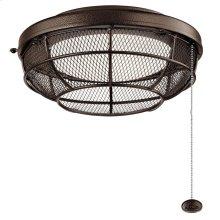 Industrial Mesh LED Outdoor Light Kit Tannery Bronze