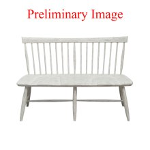 Rush Seat Dining Bench