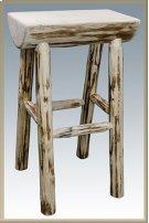 Montana Half Log Barstool Product Image