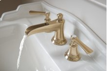 Widespread Lavatory Faucet With Channel Spout - Less Handles