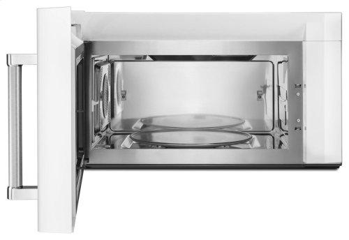 1000-Watt Convection Microwave Hood Combination - White