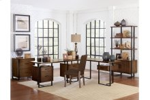 Writing Desk with Two Cabinets