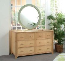 Summer Retreat Round Mirror