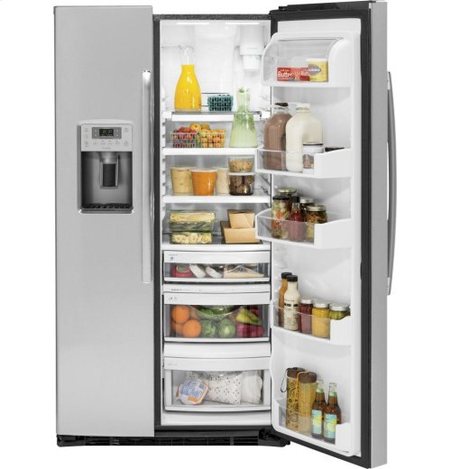 GE Profile™ Series 21.9 Cu. Ft. Counter-Depth Side-By-Side Refrigerator [OPEN BOX]