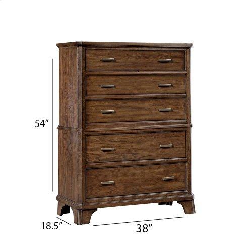 Bedroom - Telluride Five Drawer Chest