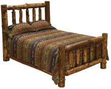 Traditional Log Bed Cal King, Vintage Cedar