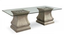 Arch Salvage Leoni Rectangular Dining Table