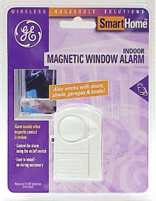 GE SmartHome Indoor Magnetic Window Alarm