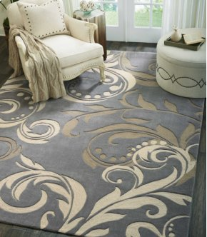 Contour Con09 Sil Rectangle Rug 8' X 10'6''
