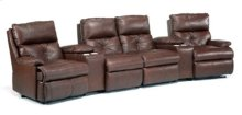 Oslo Leather Home Theater Group