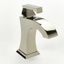 Single Lever Lavatory Faucet Leyden Series 14 Polished Nickel