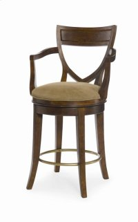 Shield Back Swivel Counter Stool Product Image