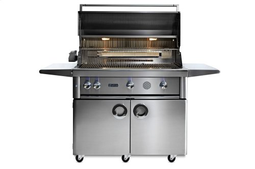 "42"" Lynx Professional Freestanding Smart Grill with Rotisserie, NG"