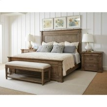 Portico Panel Bed - Drift / California King