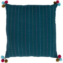 "Dhaka DH-002 18"" x 18"" Pillow Shell with Down Insert"