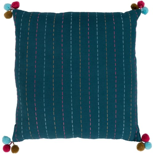 "Dhaka DH-002 20"" x 20"" Pillow Shell with Down Insert"