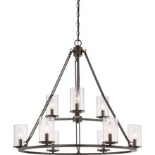 Buchanan Chandelier in Western Bronze