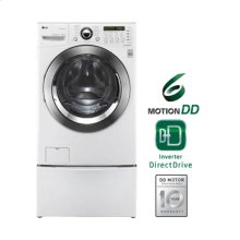 3.9 cu.ft. Extra-Large Capacity Front Load Washer with TrueSteam™ Technology (This is a Stock Photo, actual unit (s) appearance may contain cosmetic blemishes. Please call store if you would like actual pictures). This unit carries our 6 month warranty, MANUFACTURER WARRANTY and REBATE NOT VALID with this item. ISI 32637