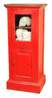Sunset Trading Cottage Glass Door Storage Cabinet - Sunset Trading Product Image
