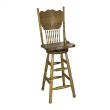 30 Inch Press Back Barstool