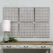 Rogero Squares Wall Decor, S/6 Product Image