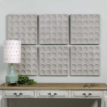 Rogero Squares Wall Decor, S/6
