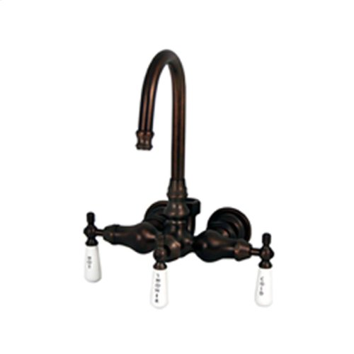 Wall Mount Clawfoot Tub Filler for Acrylic Tub - Oil Rubbed Bronze