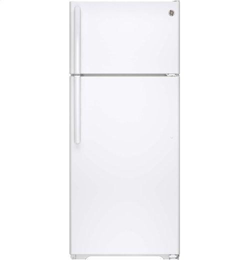 SCRATCH & DENT- GE® 17.5 Cu. Ft. Top-Freezer Refrigerator