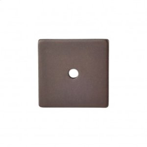 Square Backplate 1 1/4 Inch - Oil Rubbed Bronze
