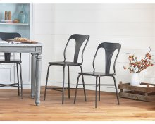 Gaven Metal Stamped Chairs