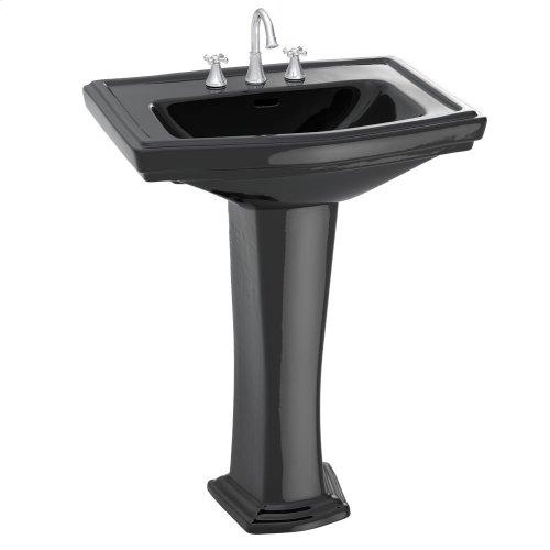 Clayton® Pedestal Lavatory - Ebony