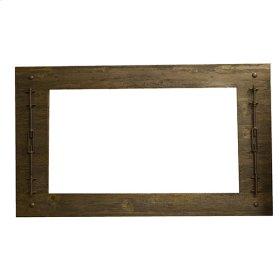 "Mirror : 50"" x 3"" x 33"" Las Piedras Dresser"