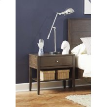 Lompoc Mid-century Modern Cappuccino Nightstand