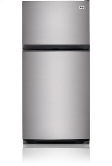 Sophisticated LG styling in a traditional top-freezer design