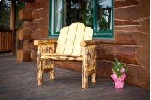 Montana Log Deck Chair - Exterior Finish