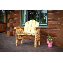 Montana Log Deck Chair - Exterior Finish