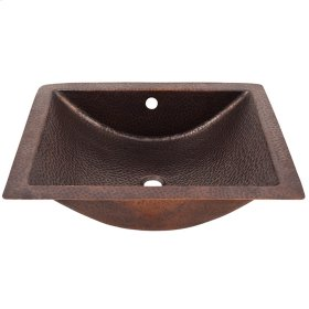 Fuller Concave Copper Undermount Basin - Pewter