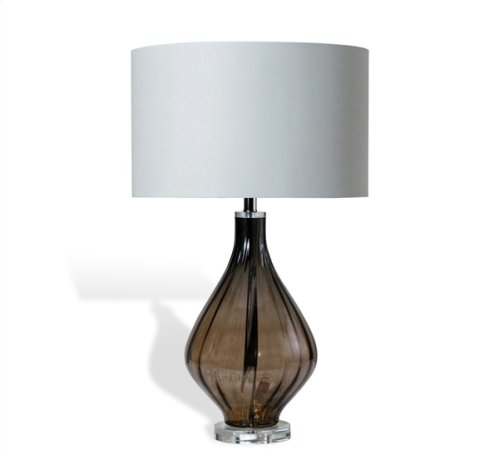 Elise Table Lamp - Grey