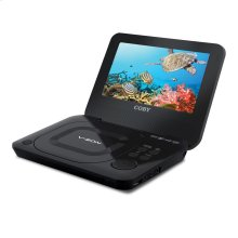7 inch Portable DVD/CD/MP3 Player